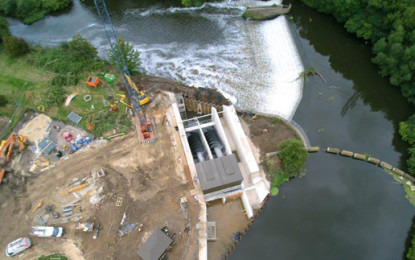 260KW Yorkshire hydropower plant powers up