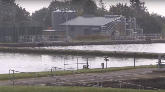 Water treatment plant at Oswestry. Image: United Utilities