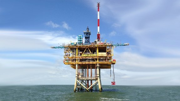 Clipper South platform. Image: Fairfield Energy