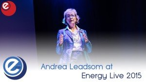 Energy Minister Andrea Leadsom at EL2015