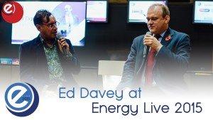 Former Energy Secretary Ed Davey at EL2015