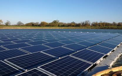 50KW floating solar farm opens in Norfolk