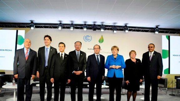 Heads of state and World Bank President call for a price on carbon. Image: World Bank