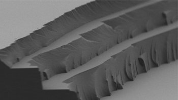 The layer-by-layer solar thermal fuel polymer film comprises three distinct layers. Image: MIT