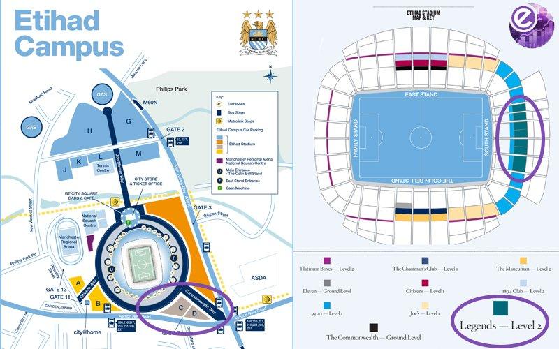 ELCC 2016 STADIUM MAP