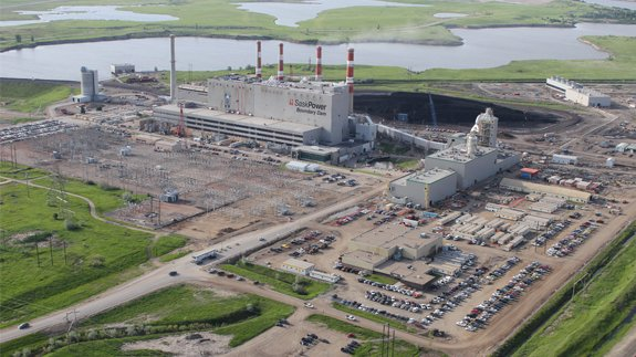 The Boundary Dam CCS plant in Canada. Image: SaskPower