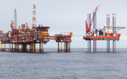 UK oil and gas production increases but exploration falls