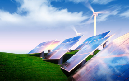 UK firms missing out on green energy benefits?