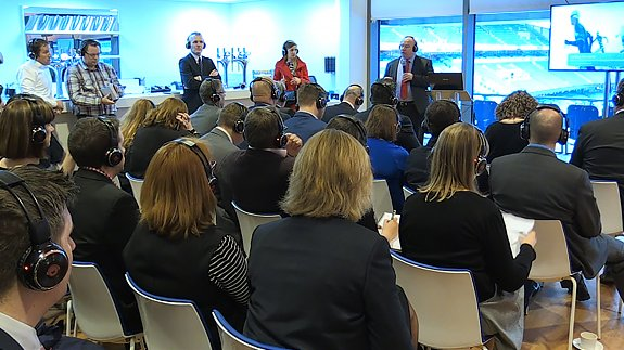 One of our packed seminars