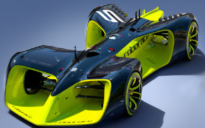 Robocar: The first electric, driverless race car