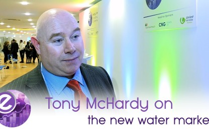 Water opportunity ahead for brokers says Tony McHardy of United Utilities