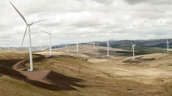 Clyde Wind Farm. Image: SSE