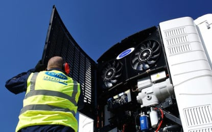 Sainsbury's first company to use natural refrigerant trailer