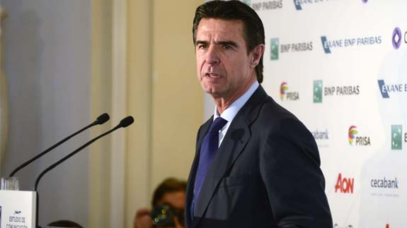 Spain's Minister of Industry, Energy and Tourism José Manuel Soria. Image: Ministry of Industry, Energy and Tourism