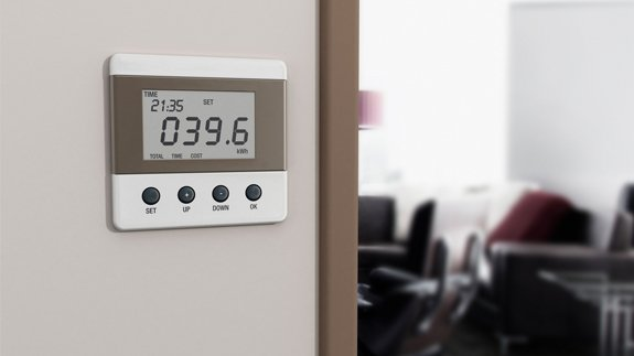 A wall mounted display for smart meters. Image: Shutterstock
