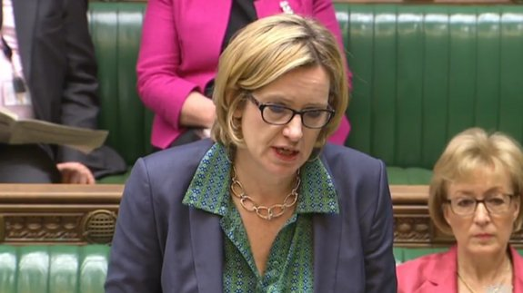 Energy Secretary Amber Rudd. Image: parliamentlive.tv