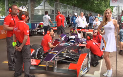 Thumbs up for Formula E finale race in London