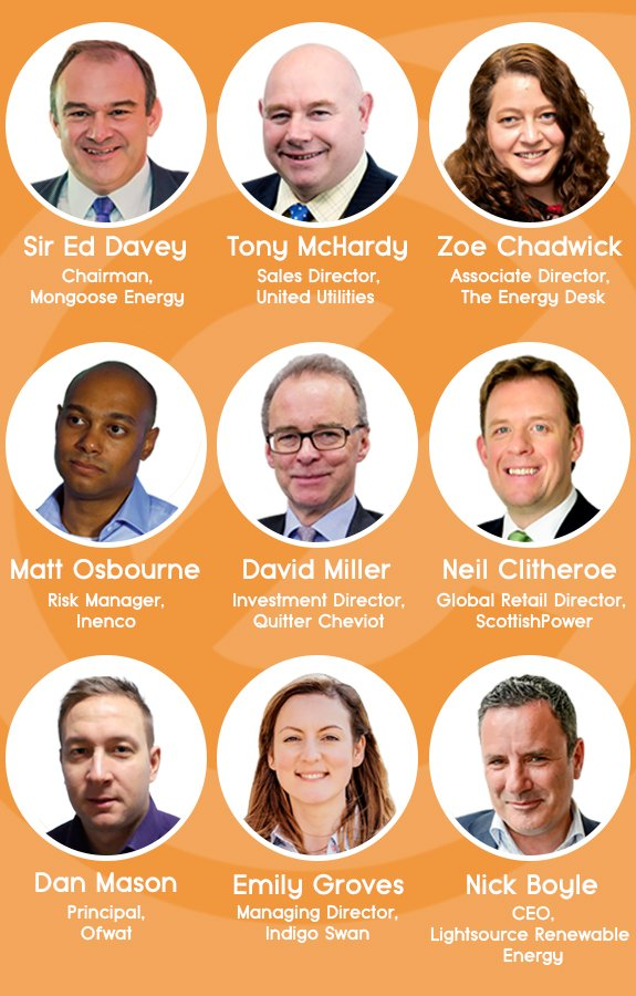 Just some of the speakers at the first ELO conference