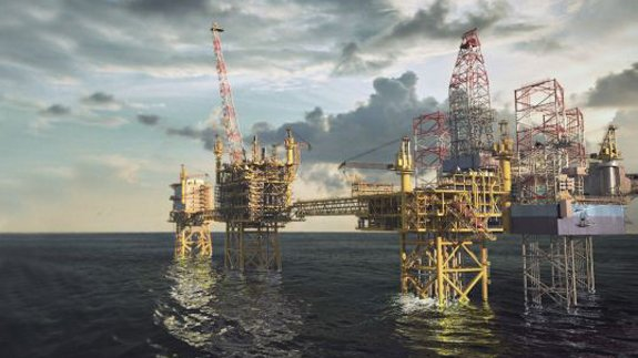 Image: Maersk Oil, operator of the field.