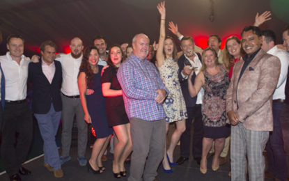 Energy high as top consultants win at TELCA