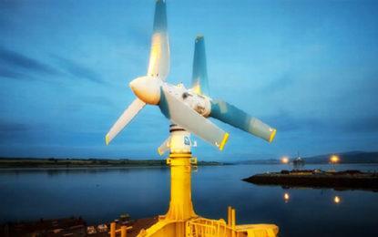 UK tidal plant breaks monthly generation records