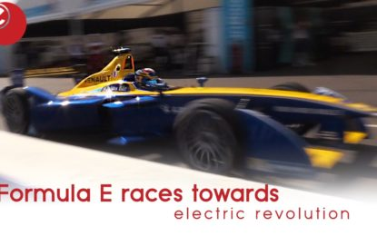 Formula E races towards electric revolution