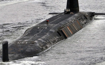 MOD picks Capenhurst to store nuclear submarine waste