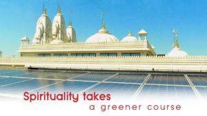 Spirituality takes a green course