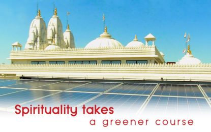 Spirituality takes a green course