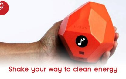 Shake your way to clean energy