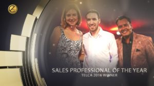 Jason Miller from Full Power Utilities named Sales Professional of the Year