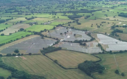 UK's first CfD solar farm connected to grid