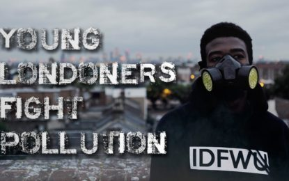 Young Londoners fight pollution