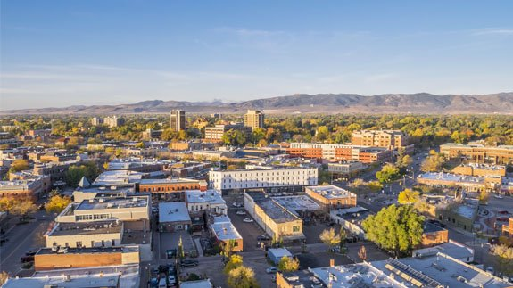 Fort Collins, Colorado. Image: Shutterstock