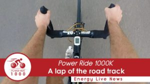 Power Ride 1000: A lap of the road track