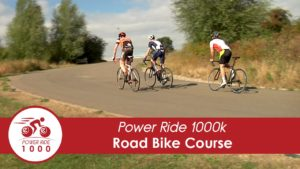 Power Ride 1000: The road bike track