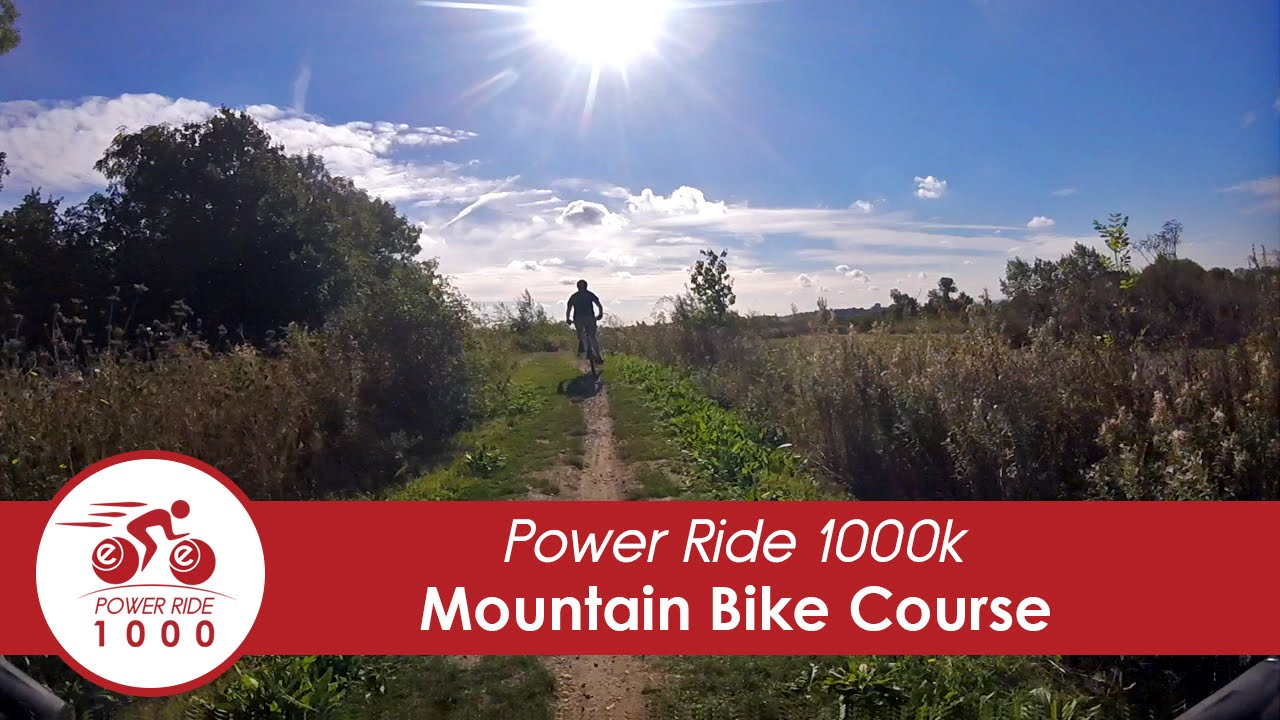 Power ride 1000: The mountain bike track
