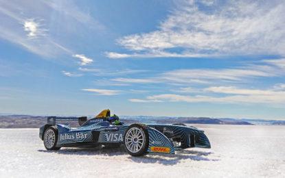 All-electric racing car tackles Arctic ice cap