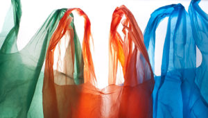 Plastic bag sales in England plunge 95% since 5p charge