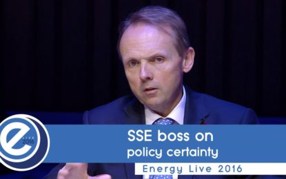 Consumers want more control of their energy, says SSE boss