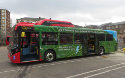 Cleaner buses cut yearly emissions by 55k tonnes