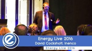 David Cockshott from Inenco at Energy Live 2016
