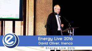 David Oliver from Inenco at Energy Live 2016
