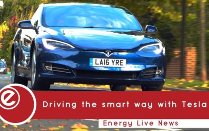 Driving the smart way with Tesla