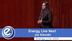 Energy Live Next with Jaz Rabadia at EL2016