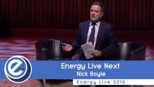 Energy Live Next with Nick Boyle at EL2016