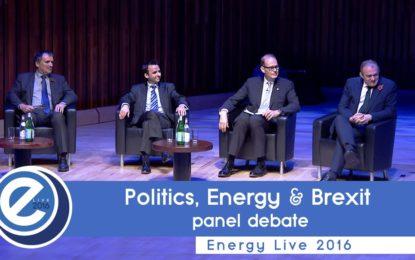 Politics, energy & Brexit at EL2016