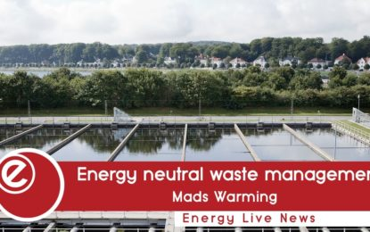 Energy neutral wastewater management at Danish city