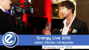 Jason Stocks from Limejump at Energy Live 2016