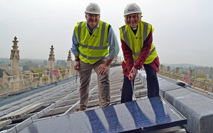Let there be light! Gloucester Cathedral goes solar